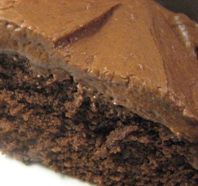 Heidi Bakes: Old Fashioned Chocolate Fudge Snack Cake With Fudge Icing
