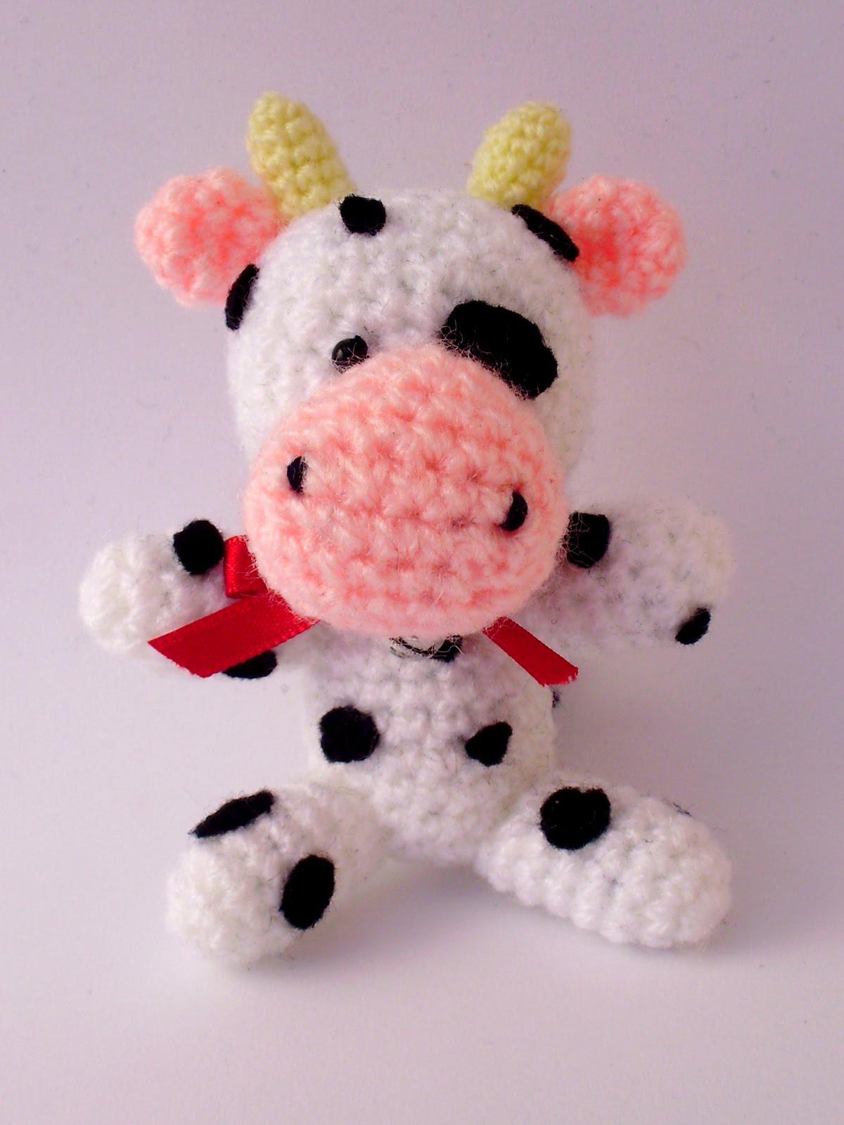 Vaca Lechera Amigurumi : El rincon de mis tesoros: Vaca