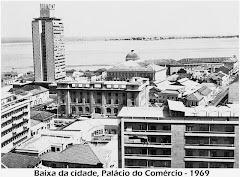 VISTA PARCIAL SOBRE A BAIXA DA CIDADE DE LUANDA, PALÁCIO DO COMÉRCIO - ANO 1969.