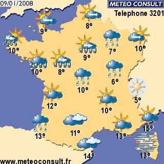 PORTUGAL SEM FRONTEIRAS: Meteorologia àos arededores de Paris