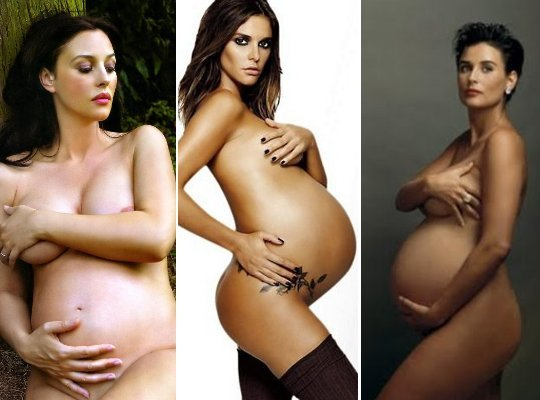 fotos de gravidas nuas