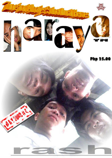Haraya: Fourth Issue Cover