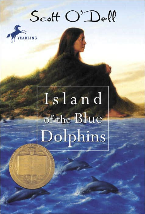 island of blue dolphins. island of lue dolphins cover.