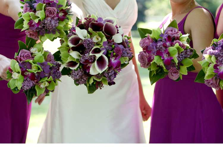 Be my Bridesmaid: Color Combo Thursday - Eggplant and Sage