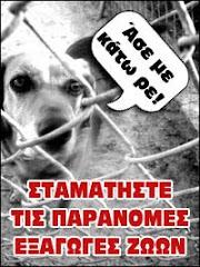 ΟΧΙ ΣΤΟ ΛΑΘΡΕΜΠΟΡΙΟ ΖΩΩΝ