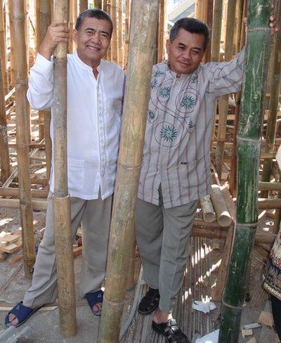 Pak Amang dan Pak Muslich (lt 2 masjid Assalam)