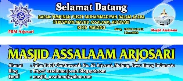 Peresmian Masjid Assalaam 1