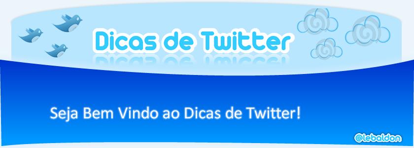 Dicas de Twitter