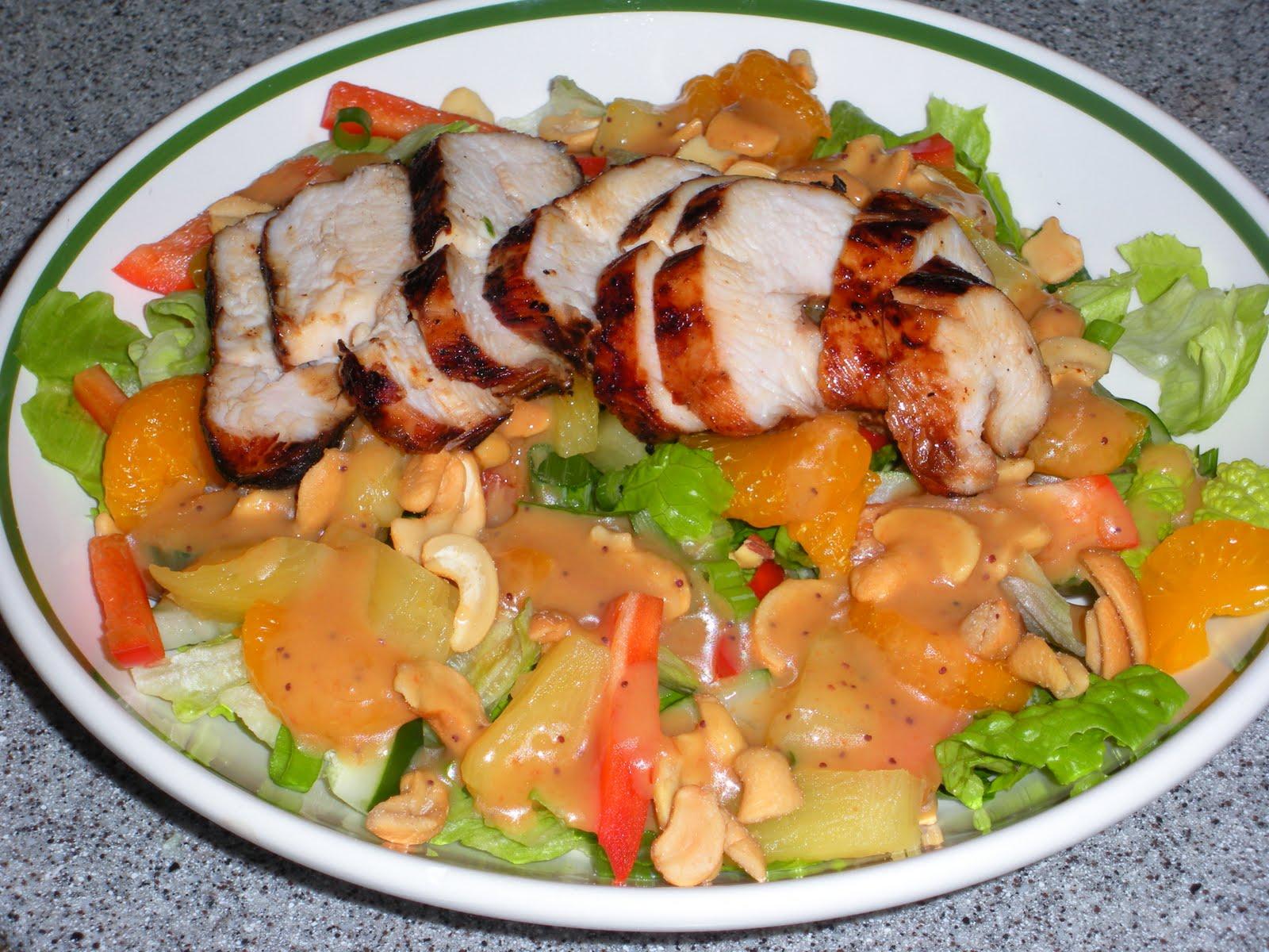 Asian Chicken Salad Recipe — Dishmaps