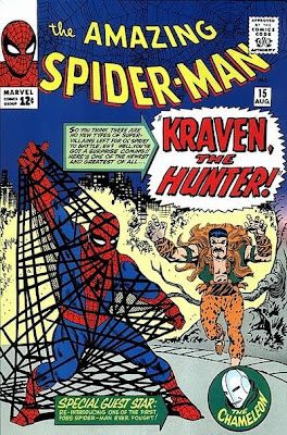 Amazing Spider-Man #15, Kraven the Hunter makes his first ever appearance and traps Spider-Man in a steel net