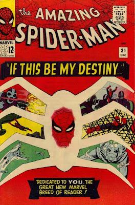 Amazing Spider-Man #31, Dr Octopus, Master Planner, Steve Ditko cover