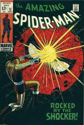 Amazing Spider-Man #72, the Shocker