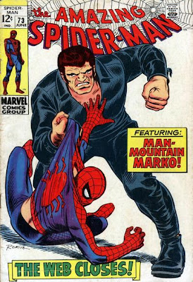 Amazing Spider-Man #73, Man-Mountain Marko, John Romita