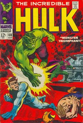 Incredible Hulk #108, the Mandarin