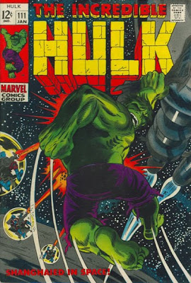 Incredible Hulk #111, the Galaxy Master's first appearance