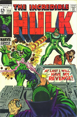 Incredible Hulk #114, The Sandman and the Mandarin