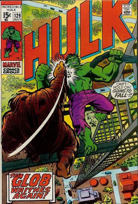 Incredible Hulk #129, the Leader and the Glob, Herb Trimpe