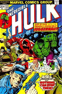 Incredible Hulk #172, the Juggernaut