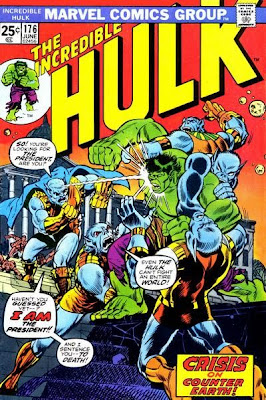 Incredible Hulk #176, Adam Warlock, Man-Beast, Counter-Earth, Herb Trimpe