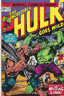 Incredible Hulk #179, Missing Link returns, Herb Trimpe