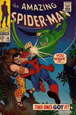 Amazing Spider-Man #49, Kraven and the Vulture, John Romita