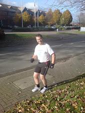 Ulen in marathon training