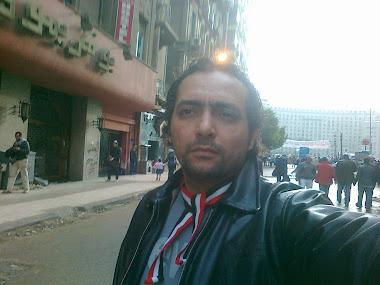 الناس مهمهاش المطر ولاالزحام بجد دة كرنفال الثورة