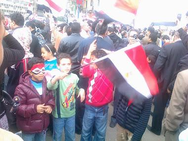 اب جاب ولادة يشوفوا ويشاركو ويرفعوا علم مصر