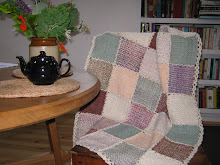 Small loom blanket