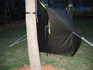 this provides extra protection from wind and rain  notice that i have also pulled out the sides to make it look even more tent like  weekend hiker  hammock bunk beds  rh   heberhiking blogspot
