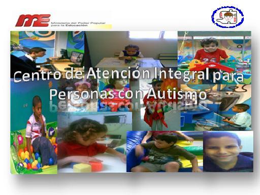 Centro de Atención Integral para Personas con Autismo. CAIPA Zulia.