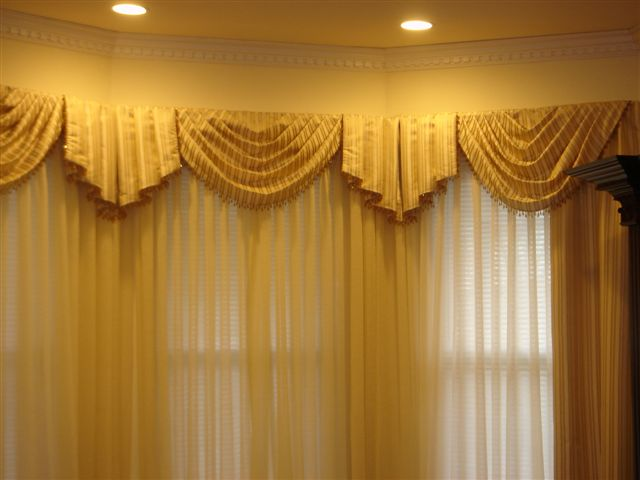 Window Covering Design Ideas - Lace Curtains from Heritage and the