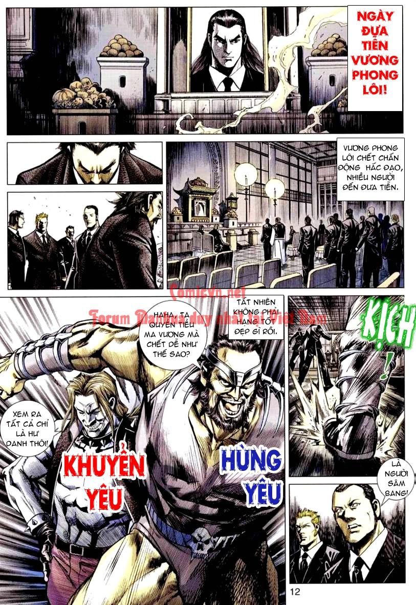 Vương Phong Lôi 1 chap 9 - Trang 12
