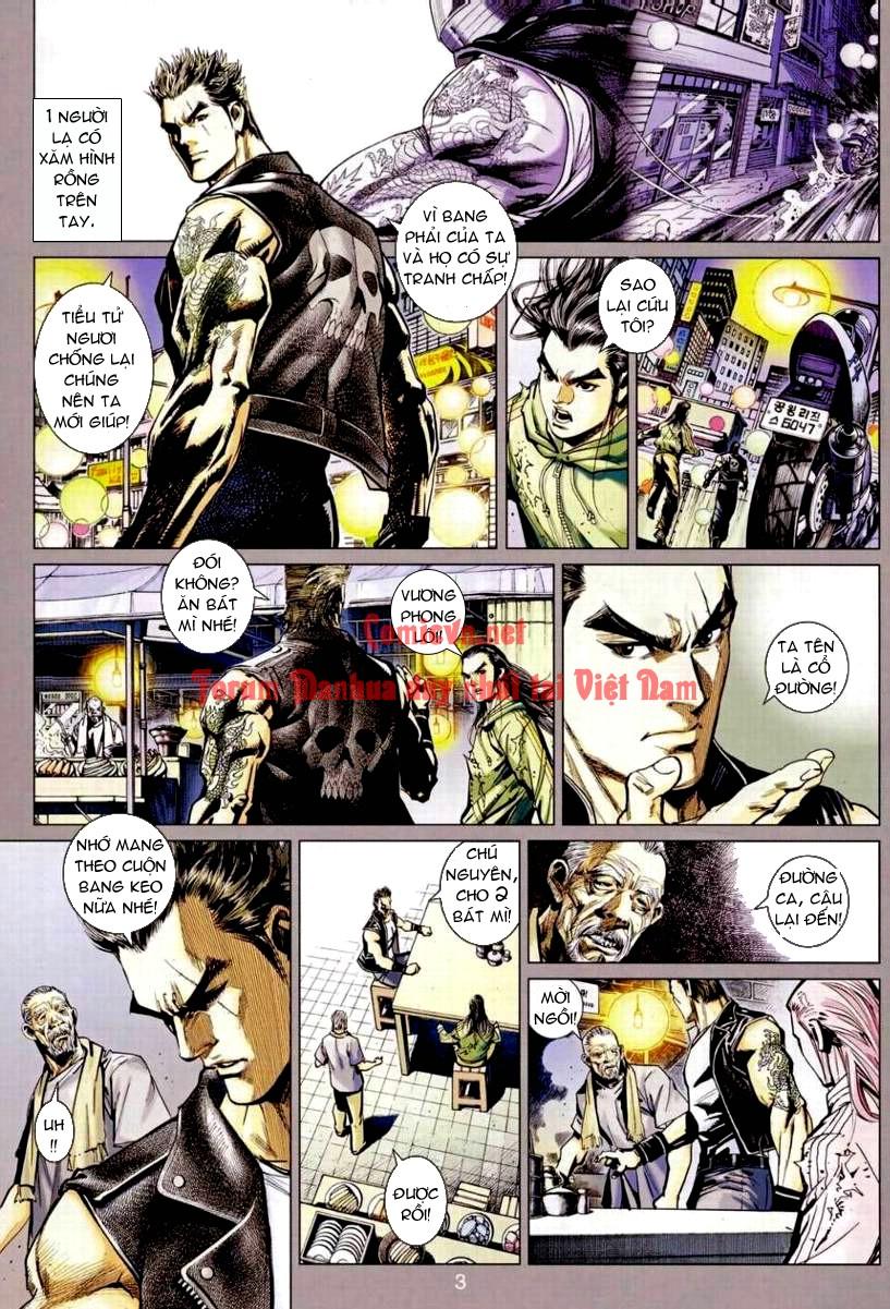 Vương Phong Lôi 1 chap 9 - Trang 3