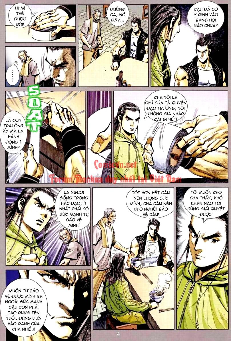 Vương Phong Lôi 1 chap 9 - Trang 4