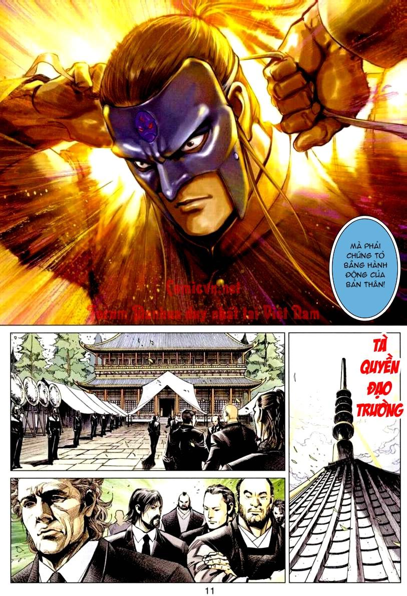 Vương Phong Lôi 1 chap 9 - Trang 11