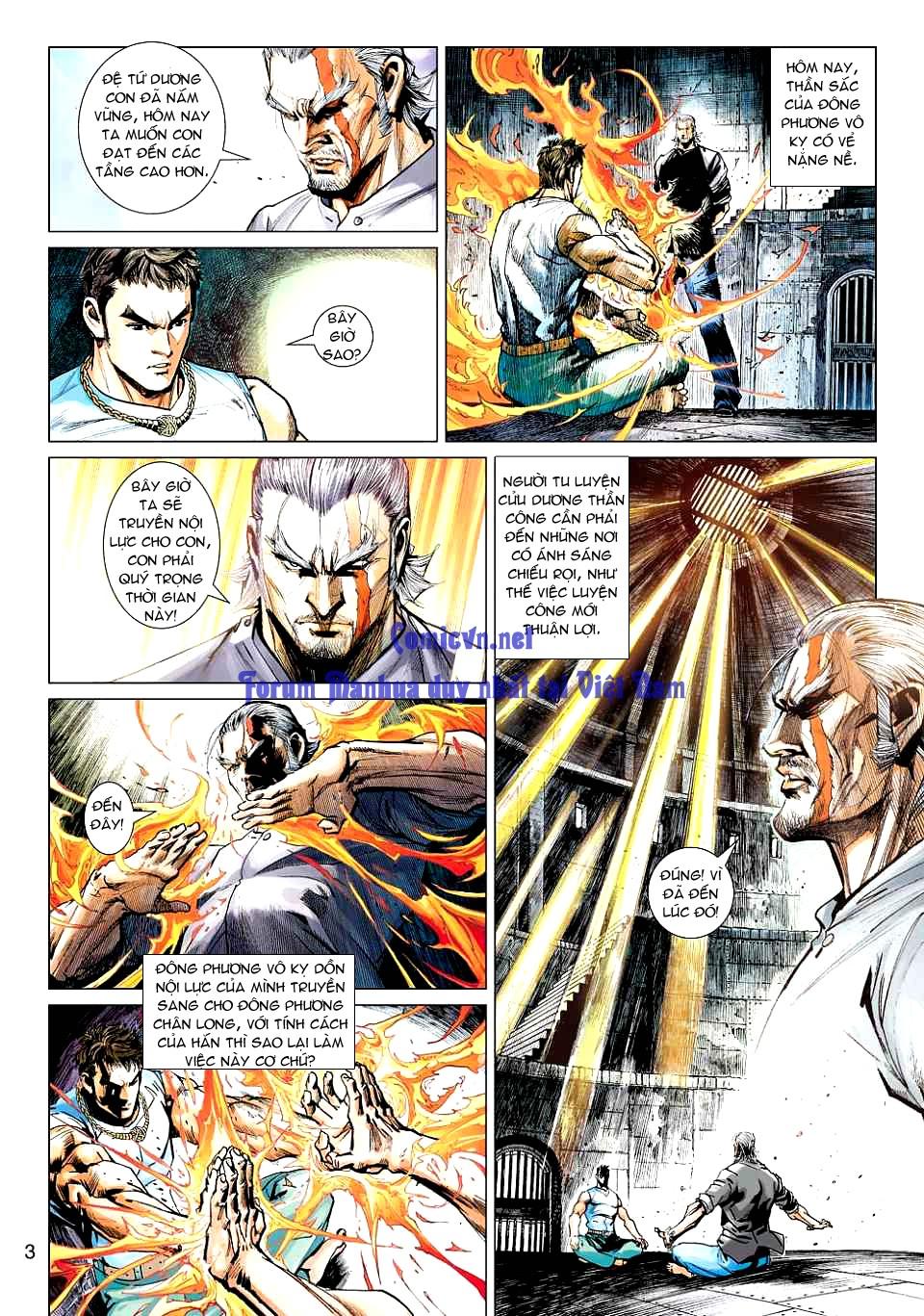 Vương Phong Lôi 1 chap 12 - Trang 3