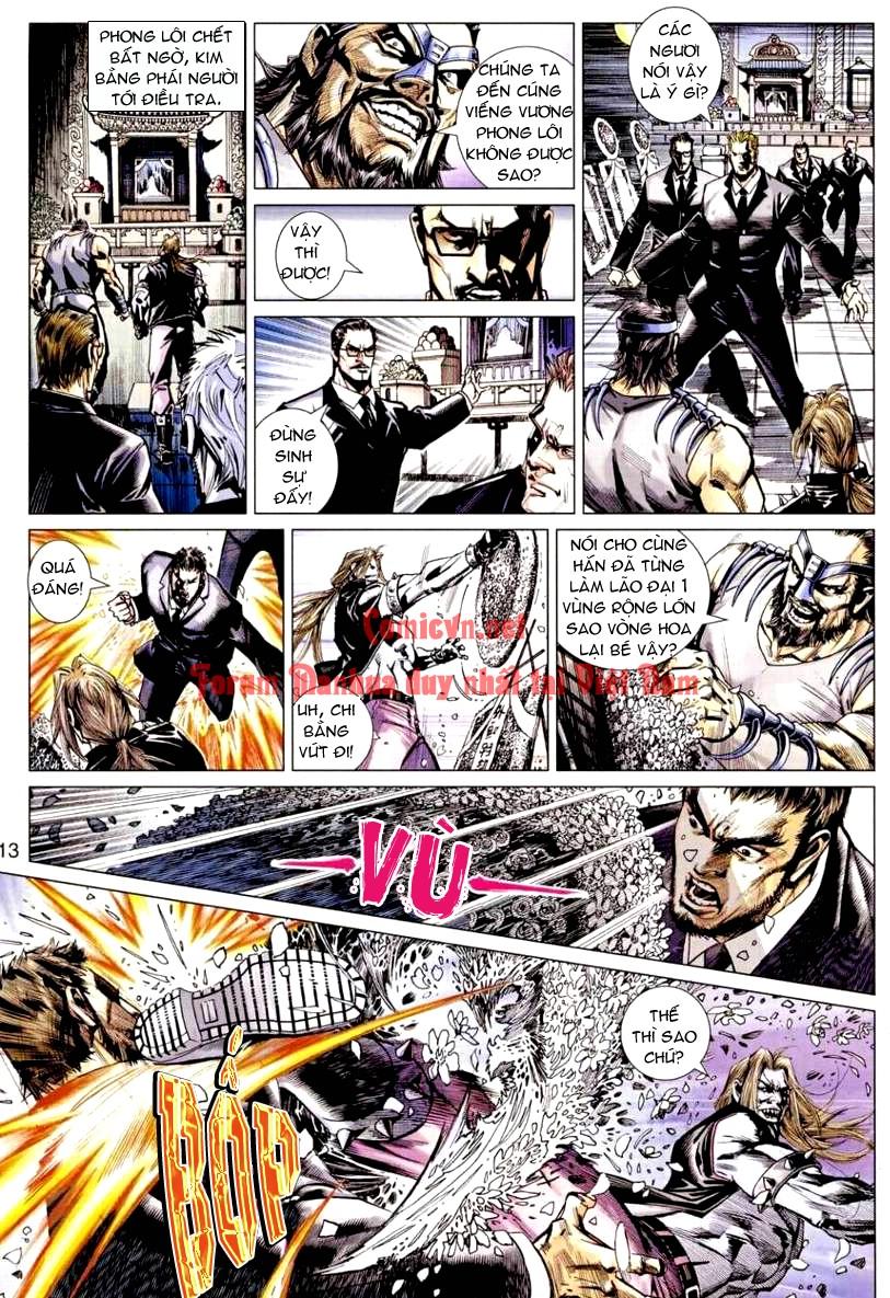 Vương Phong Lôi 1 chap 9 - Trang 13