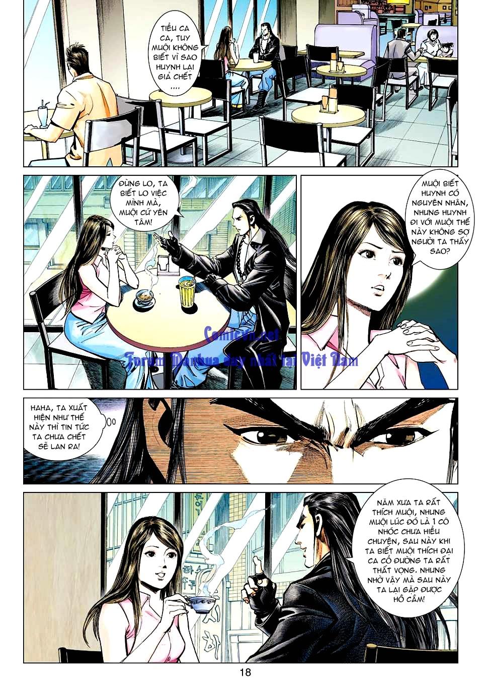 Vương Phong Lôi 1 chap 12 - Trang 17