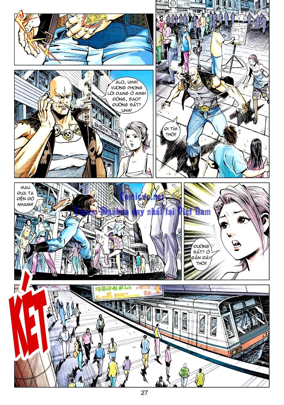Vương Phong Lôi 1 chap 12 - Trang 26