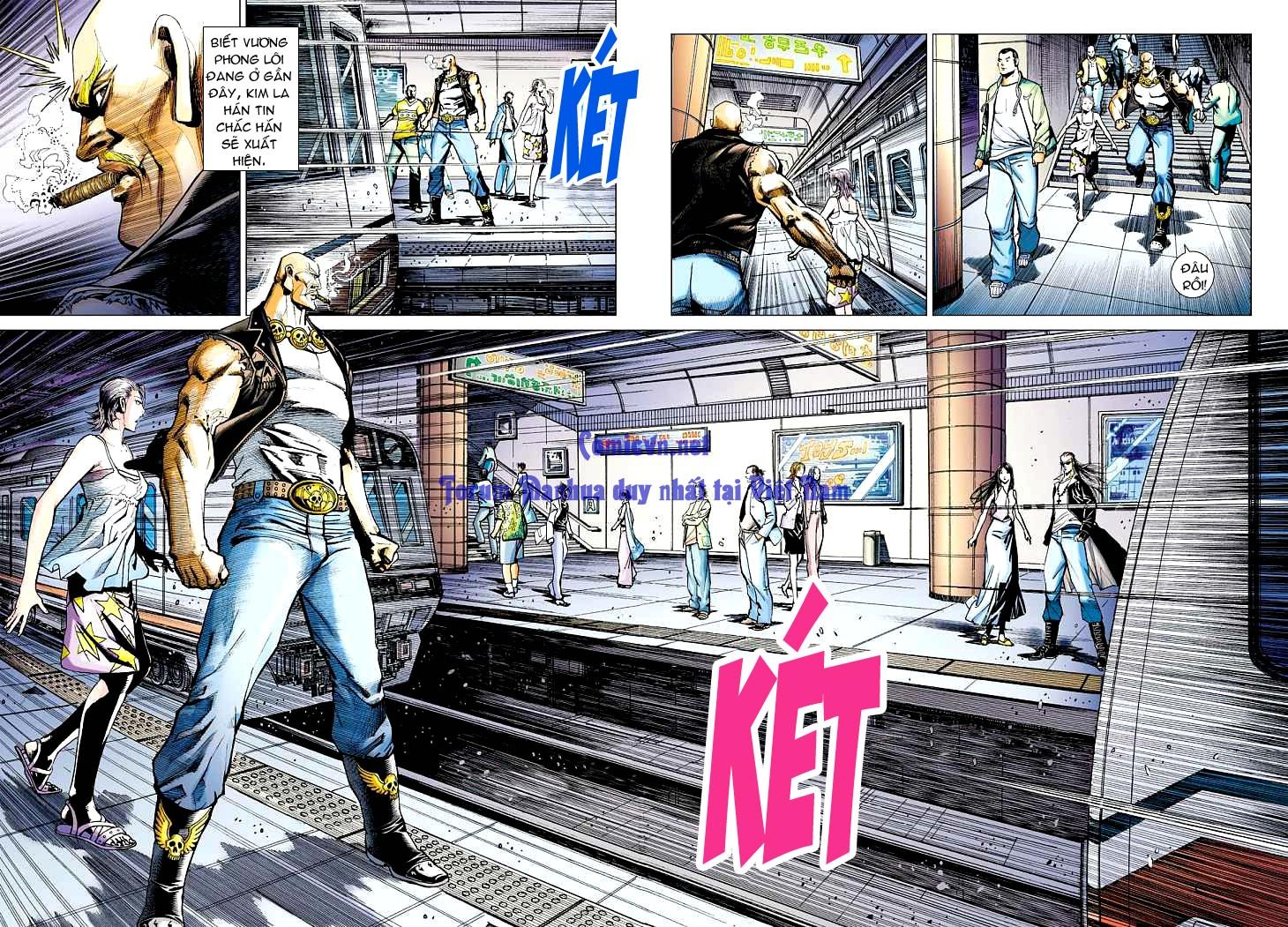 Vương Phong Lôi 1 chap 12 - Trang 27