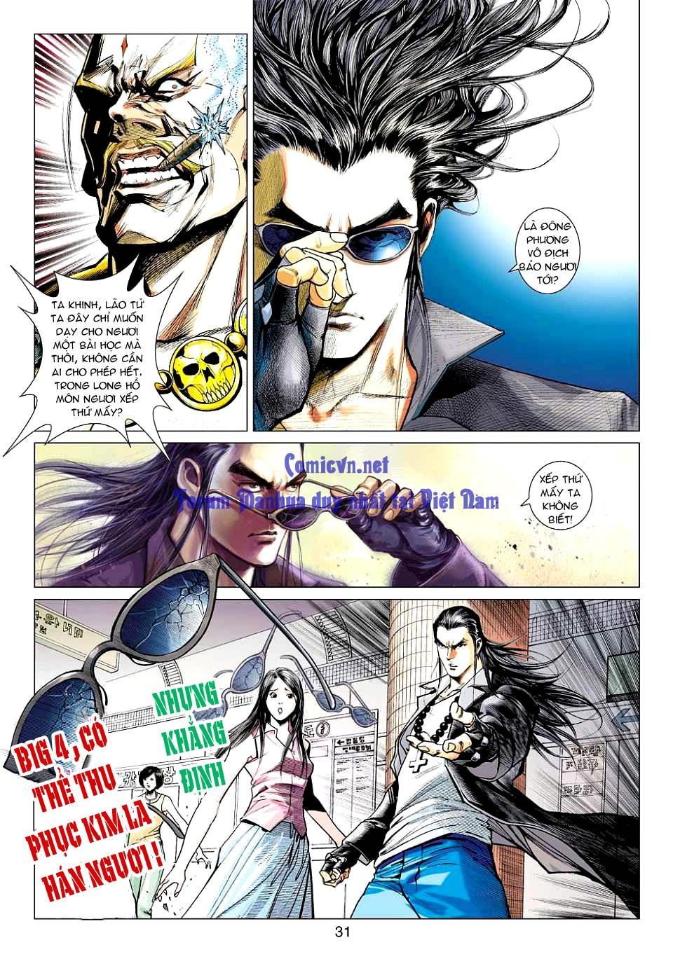 Vương Phong Lôi 1 chap 12 - Trang 29