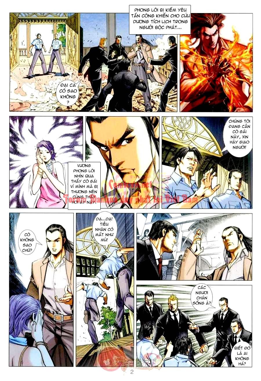 Vương Phong Lôi 1 chap 3 - Trang 2