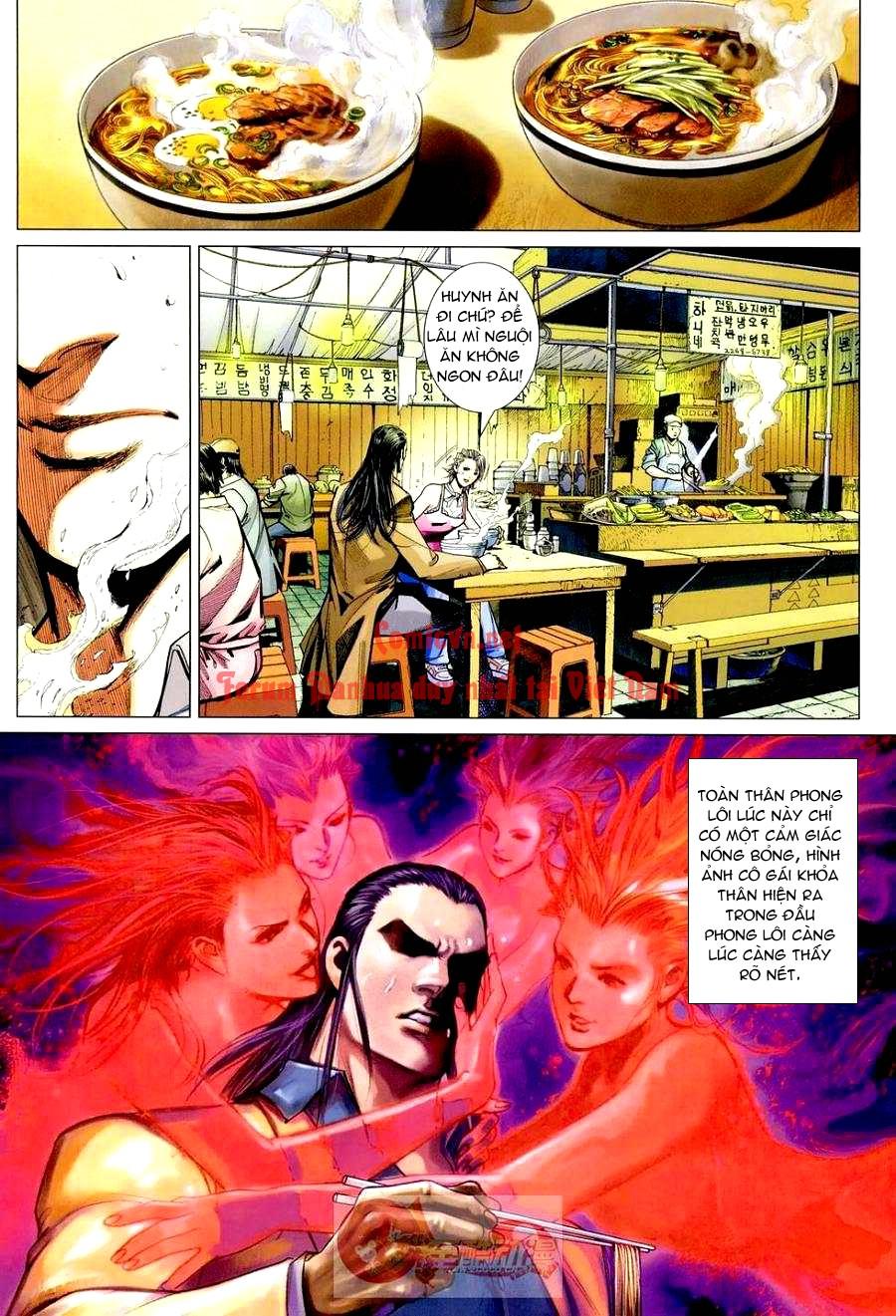 Vương Phong Lôi 1 chap 3 - Trang 10