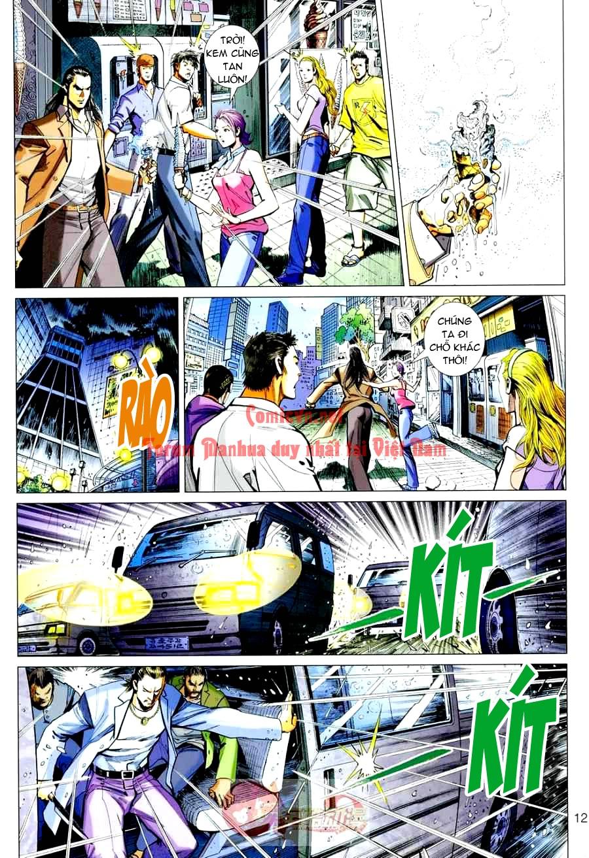 Vương Phong Lôi 1 chap 3 - Trang 12