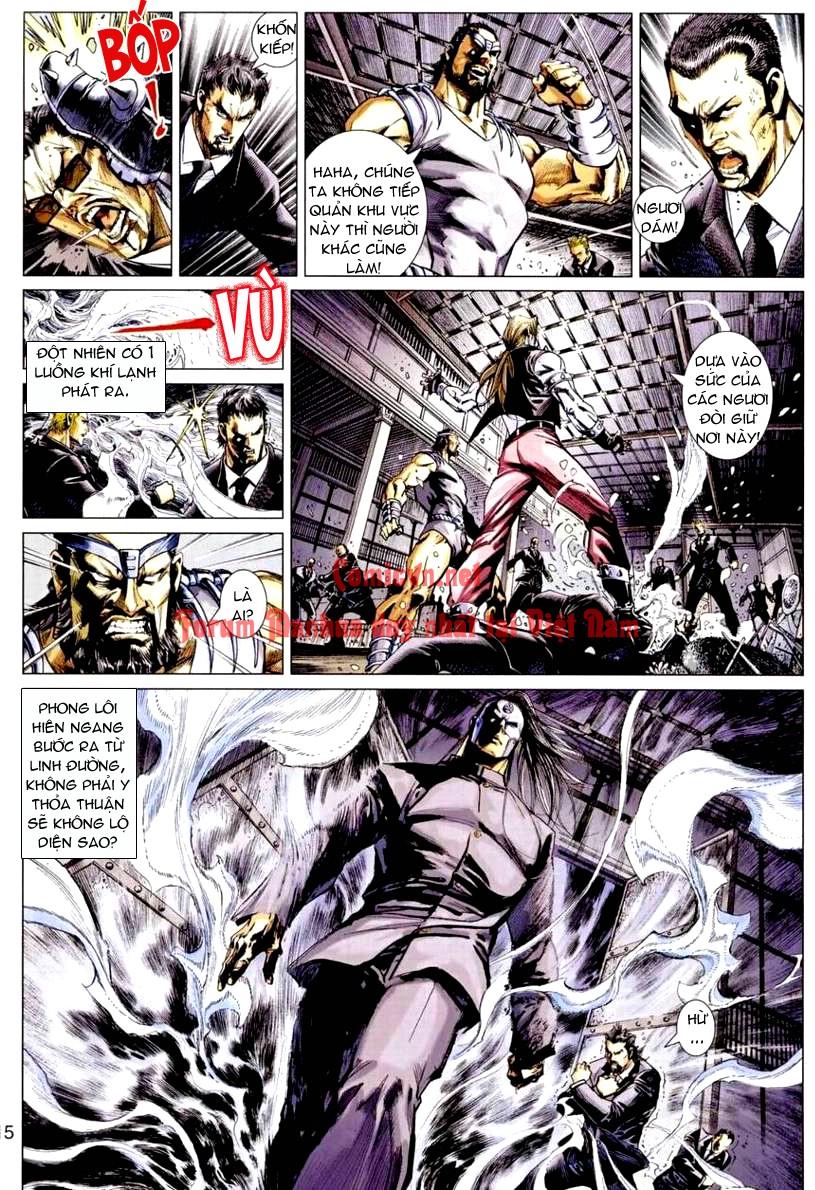 Vương Phong Lôi 1 chap 9 - Trang 15