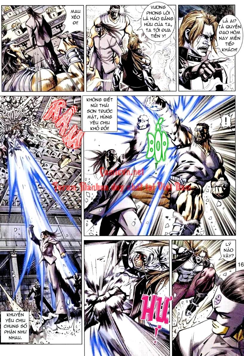 Vương Phong Lôi 1 chap 9 - Trang 16