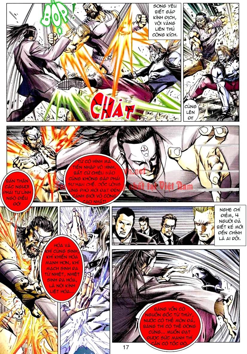 Vương Phong Lôi 1 chap 9 - Trang 17