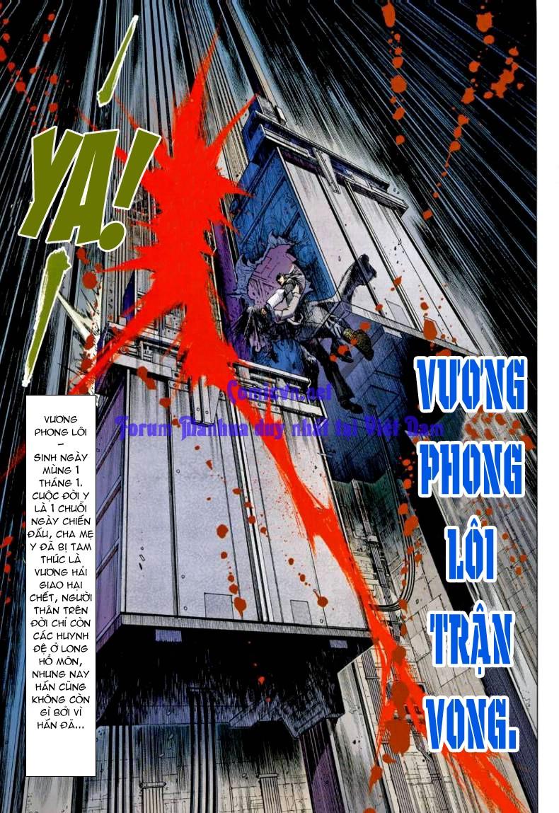 Vương Phong Lôi 1 chap 7 - Trang 22
