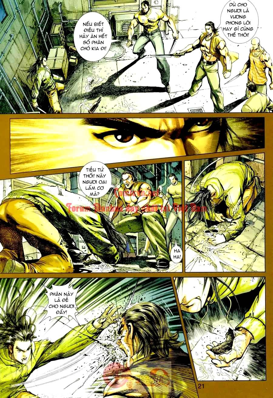 Vương Phong Lôi 1 chap 3 - Trang 17